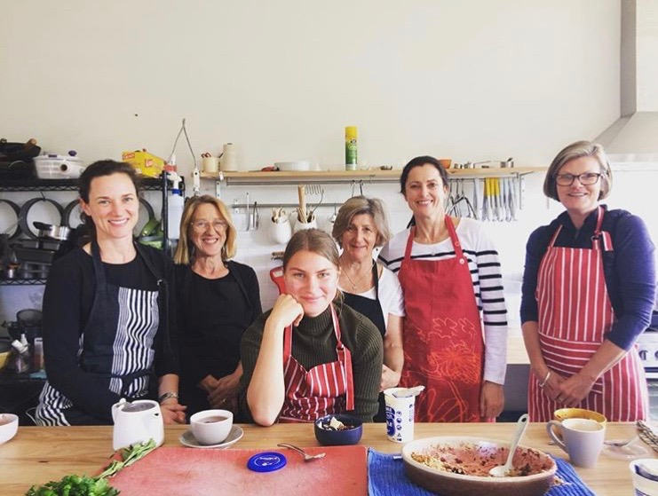 Cooking classes and workshops at Milk Haus Milton